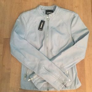 Express NWT faux leather jacket